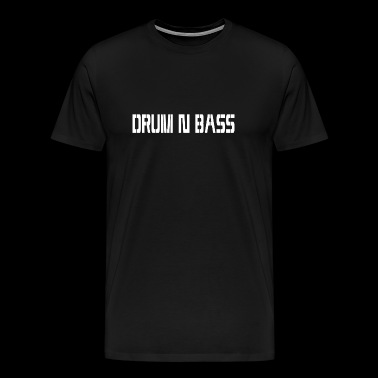 DRUM N BASS v2.0 - Men's Premium T-Shirt