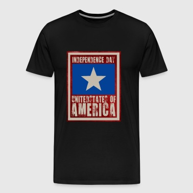 Independence Day of America - Men's Premium T-Shirt