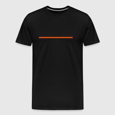 Horizontal Line - Men's Premium T-Shirt