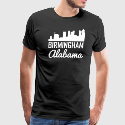 Birmingham Alabama Skyline - Men's Premium T-Shirt