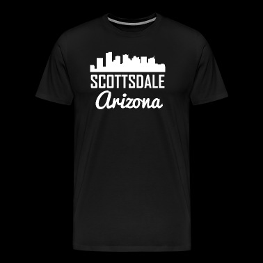 Scottsdale Arizona Skyline - Men's Premium T-Shirt