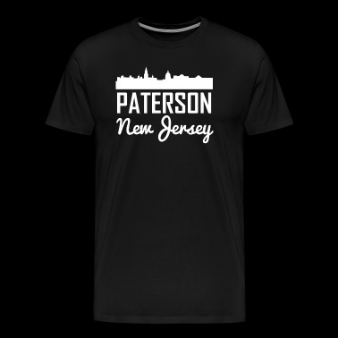 Paterson New Jersey Skyline - Men's Premium T-Shirt