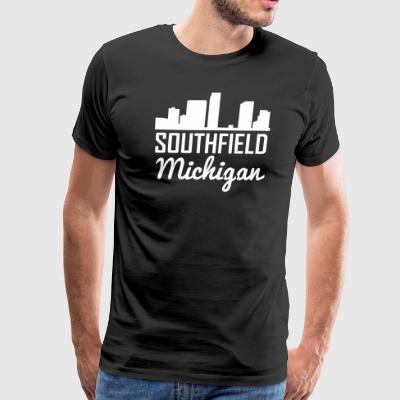 Southfield Michigan Skyline - Men's Premium T-Shirt