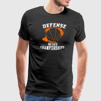 Defense Wins Championships - Men's Premium T-Shirt
