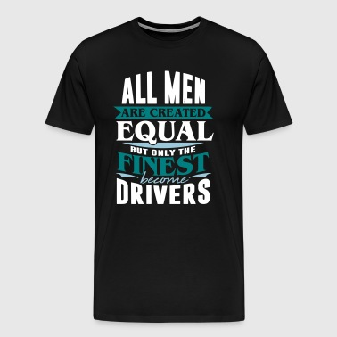 driver taxi car road transport - Men's Premium T-Shirt