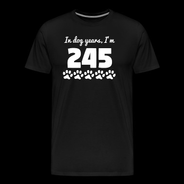 Dog Years 35th Birthday - Men's Premium T-Shirt
