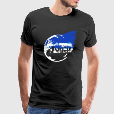 Abstract final fantasy - Men's Premium T-Shirt