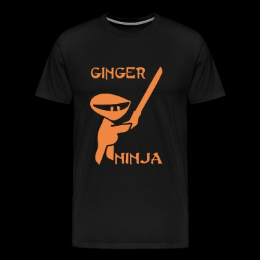 GINGER NINJA - Men's Premium T-Shirt