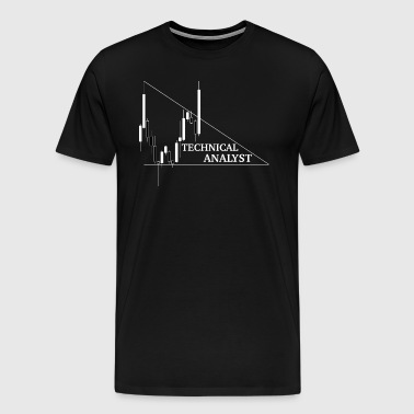 Forex T-shirt - Technical Analyst - Men's Premium T-Shirt