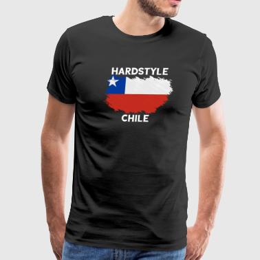 Hardstyle Chile - Men's Premium T-Shirt