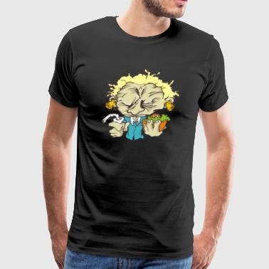 papy burger - Men's Premium T-Shirt