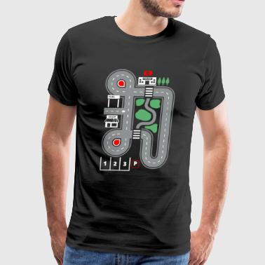 Play Cars on Daddy's - Men's Premium T-Shirt