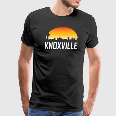 Knoxville Tennessee Sunset Skyline - Men's Premium T-Shirt