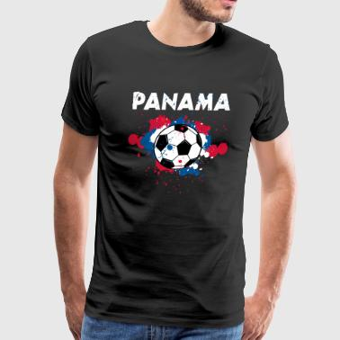 Panama Soccer Shirt Fan Football Gift Funny Cool - Men's Premium T-Shirt