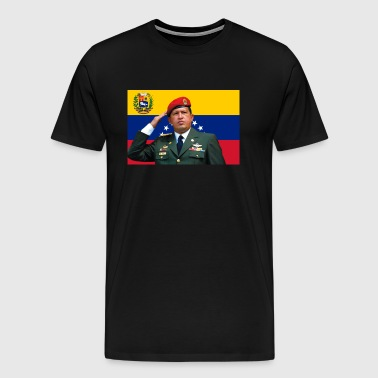 Hugo Chavez - Men's Premium T-Shirt