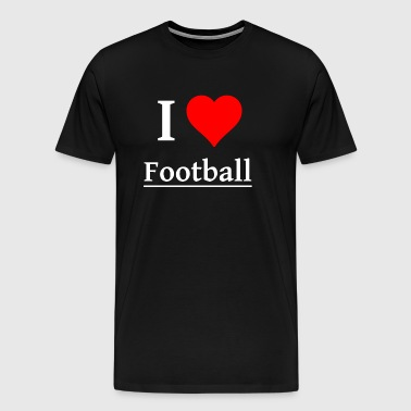 Football Sport field pitch Footballteam - Men's Premium T-Shirt