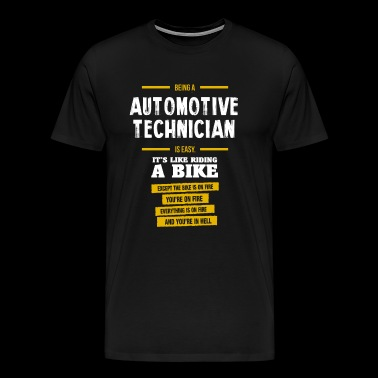 automotive technician - Men's Premium T-Shirt
