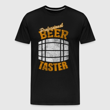 Professional Beer Taster - Men's Premium T-Shirt