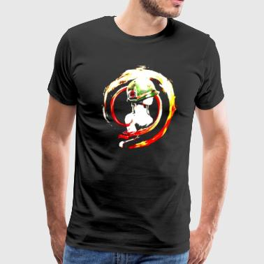 ladies and Dragon - Men's Premium T-Shirt