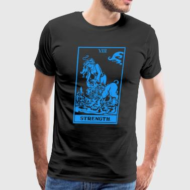Tarot Strength - Men's Premium T-Shirt
