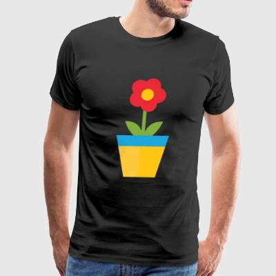 Plant pot - Men's Premium T-Shirt