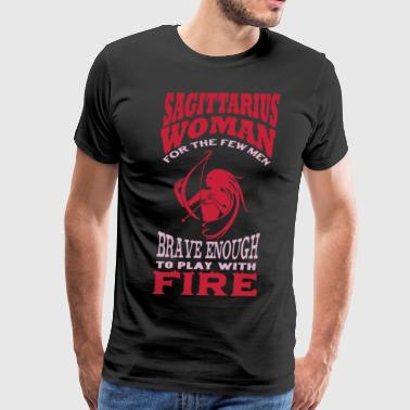 Sagittarius Woman Shirt - Men's Premium T-Shirt