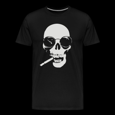 with cigare - Men's Premium T-Shirt