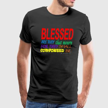 Blessed Are They Thay Mourn T-shirt - Men's Premium T-Shirt