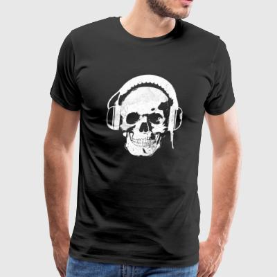 Headphones Skull Killer - Men's Premium T-Shirt
