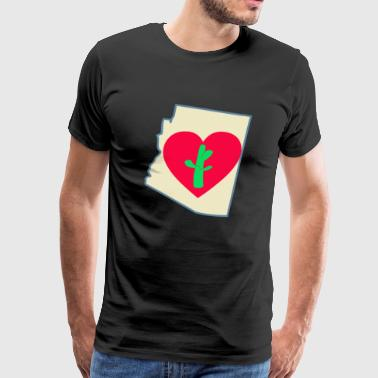 Love Arizona - Men's Premium T-Shirt