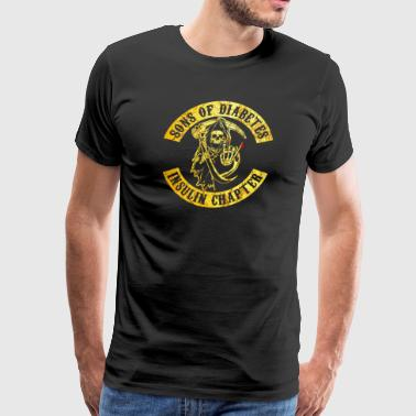 Sons Of Diabetes - Men's Premium T-Shirt