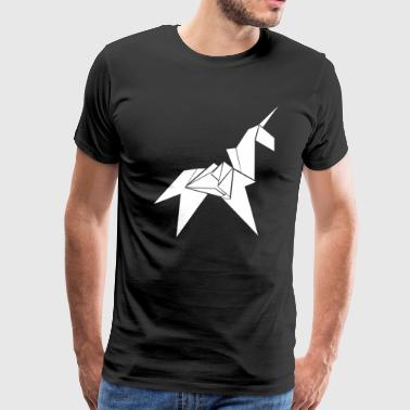 Unicorn Origami - Men's Premium T-Shirt