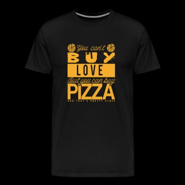 Pizza Pasta Gift Idea - Men's Premium T-Shirt