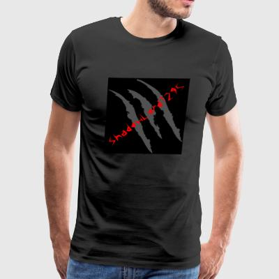 ShadowLord1295 Profile pic redtext - Men's Premium T-Shirt