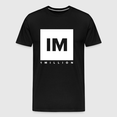 1 MILLION Dance Studio - Men's Premium T-Shirt