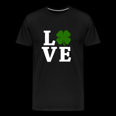 Four Leaf Clover Love - Men's Premium T-Shirt
