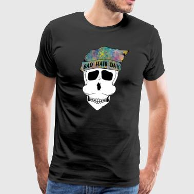 bad hair day - Men's Premium T-Shirt