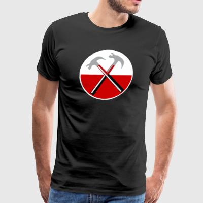 Pink Floyd The Wall Hammers - Men's Premium T-Shirt