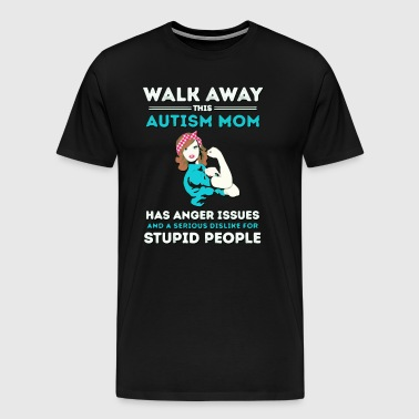 Autism Mom Autism Awareness - Men's Premium T-Shirt