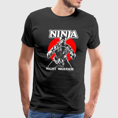 Ninja Night Warrior - Men's Premium T-Shirt