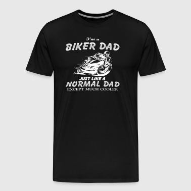 Biker DAD - Men's Premium T-Shirt