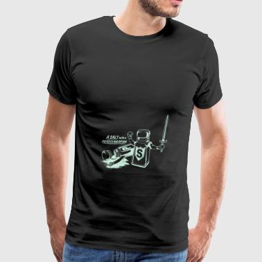 A Salt With A Deadly Weapon - Men's Premium T-Shirt