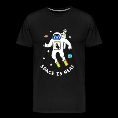 Space Is Neat - Men's Premium T-Shirt