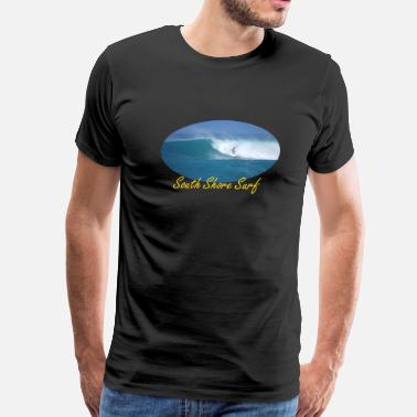 Surf Wave Photo Baby Haleiwa Wave - Men's Premium T-Shirt