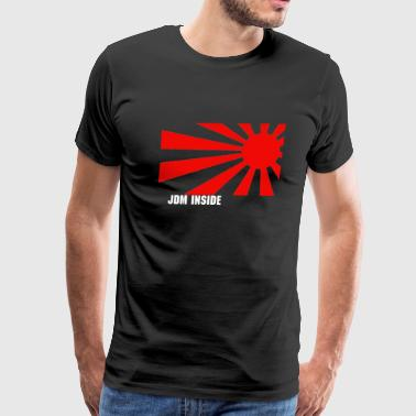 Wrx rising sun/ text - Men's Premium T-Shirt