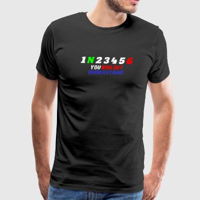 1N23456 Motorcycle Gear - Men's Premium T-Shirt