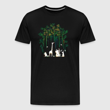 Meanwhile In The Woods - Men's Premium T-Shirt