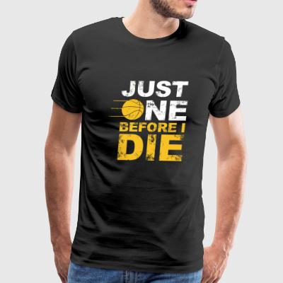 Volleyball - just one before i die - Men's Premium T-Shirt