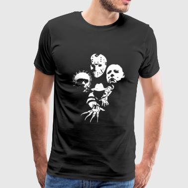 Jason voorhees - Horror Icons - Men's Premium T-Shirt