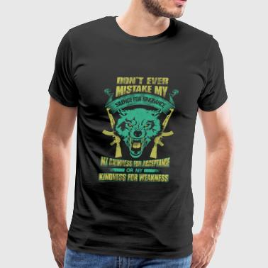 Hunter - Don't mistake my silence for ignorance - Men's Premium T-Shirt